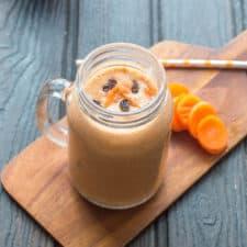 Cake carrot smoothie recipe