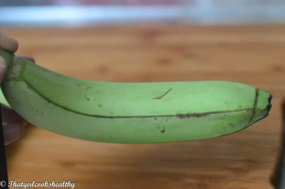 Green banana step 2