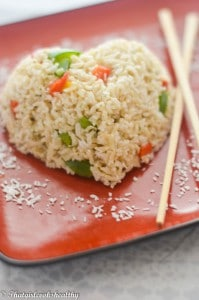Simple recipe of how to make coconut rice