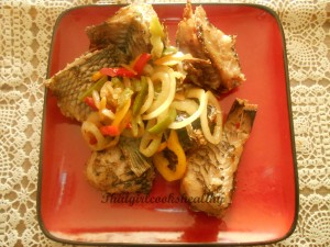 Grilled parrot fish – Friday special