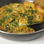 Spinach and mushroom omelette4
