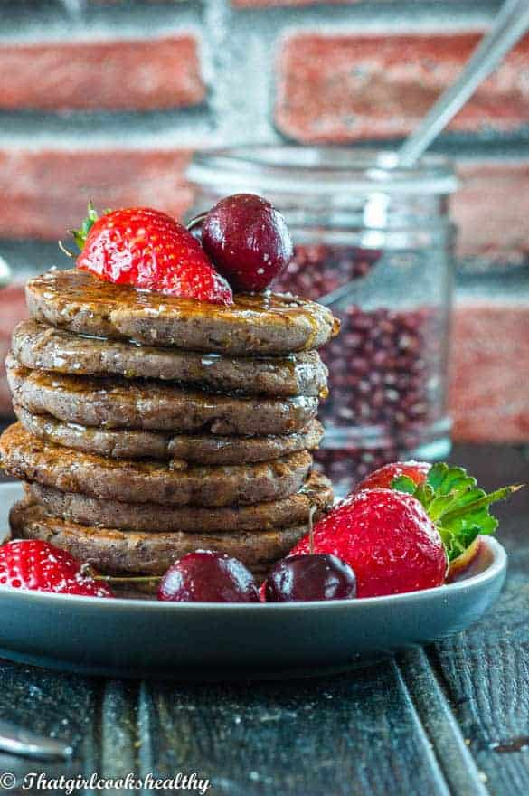 red-bean-paste-pancakes