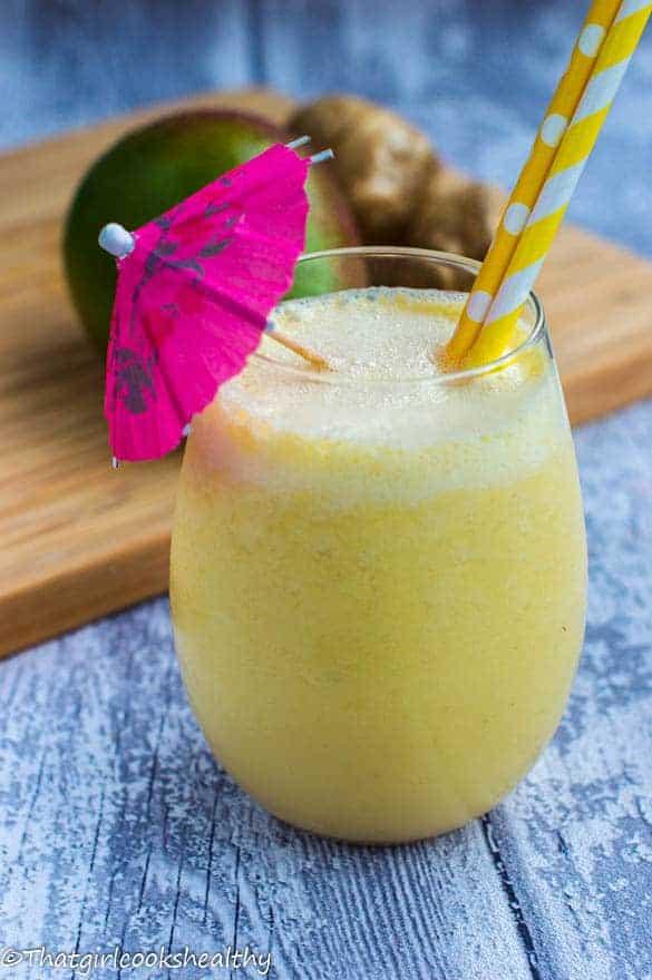mango ginger snap smoothie3