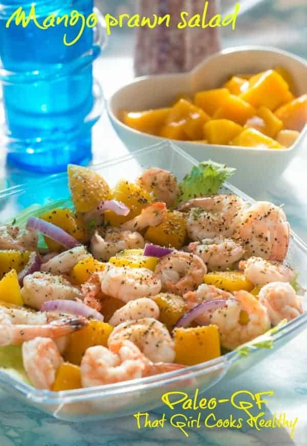 mango prawn salad