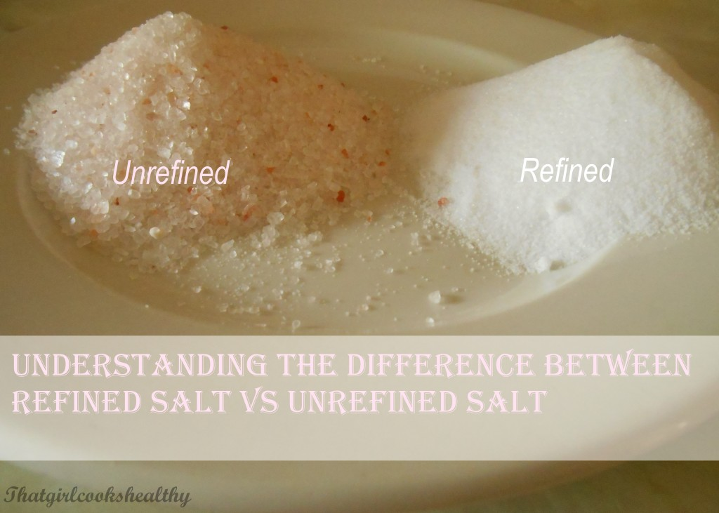 refined vs unrefined salt