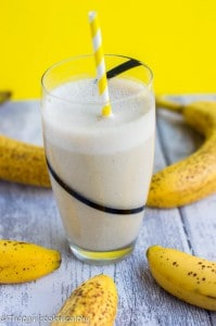 Frozen banana smoothie recipe
