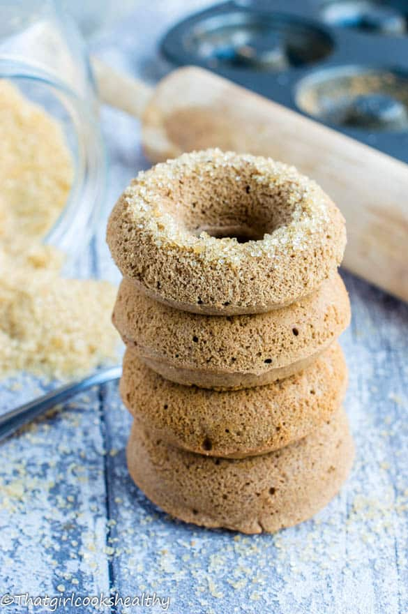 Cinnamon oven baked donuts4