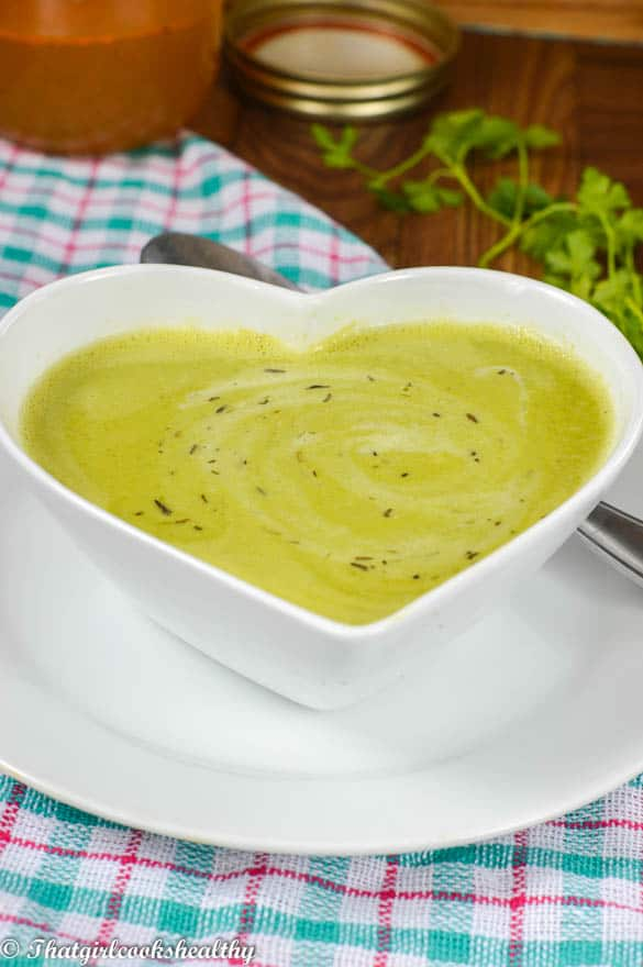 Pea and parsley soup3