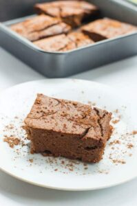Protein enriched red bean brownies