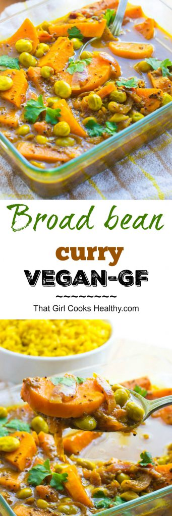Broad bean curry