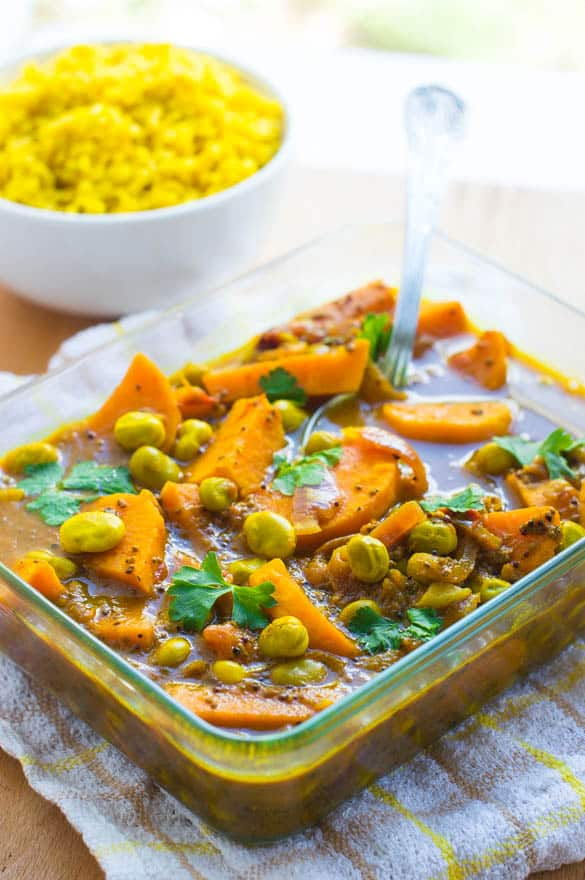 broad bean curry3