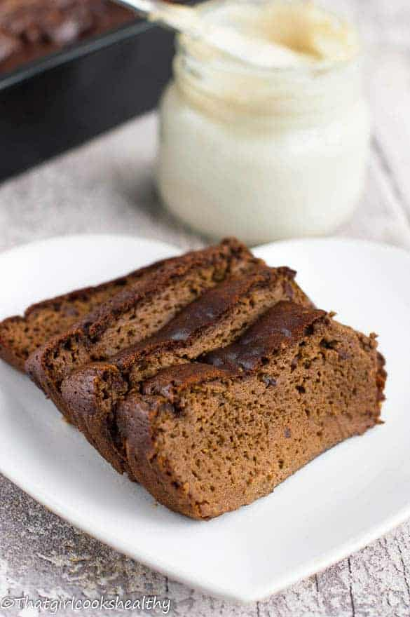 flourless brownie loaf
