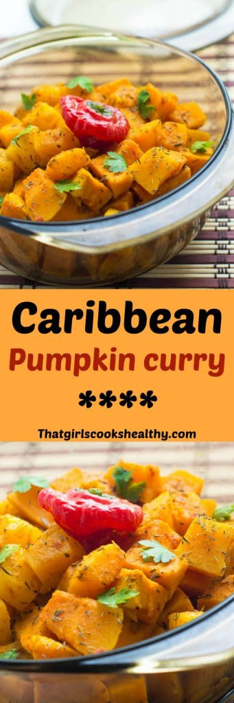 Caribbean pumpkin curry recipe (vegan) - That Girl Cooks Healthy