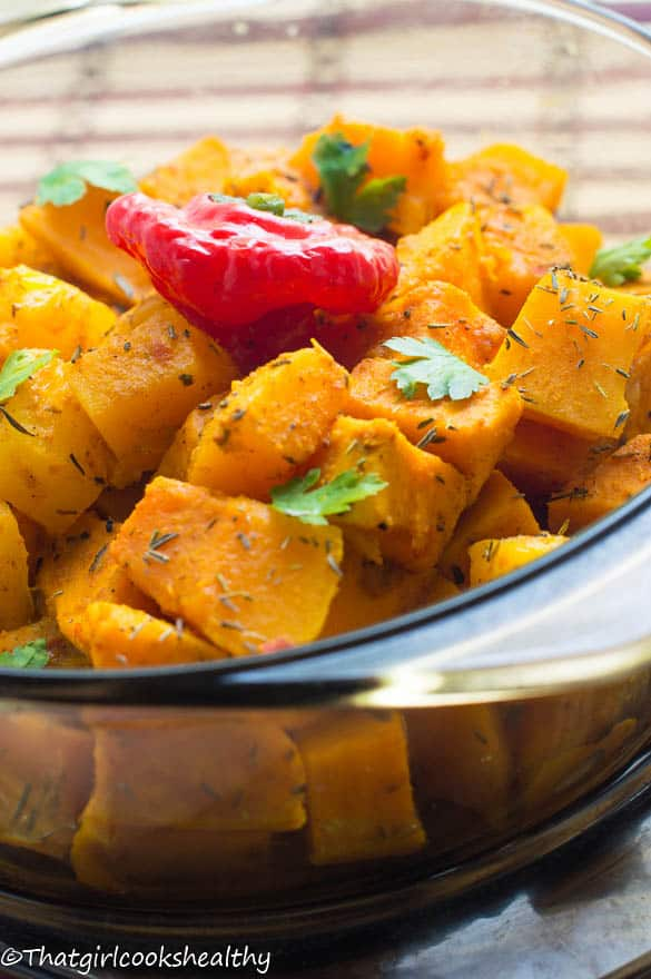 Caribbean pumpkin curry3