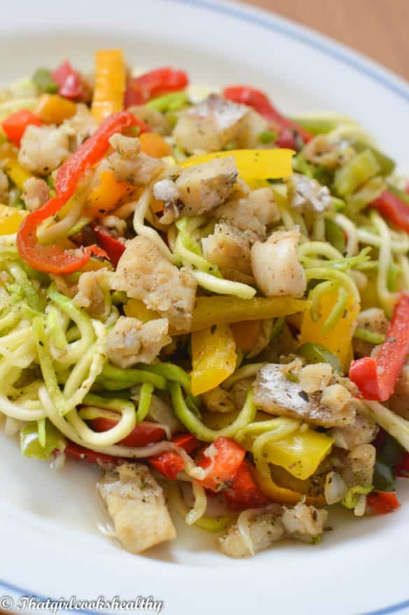 Zoodle fish stir fry2