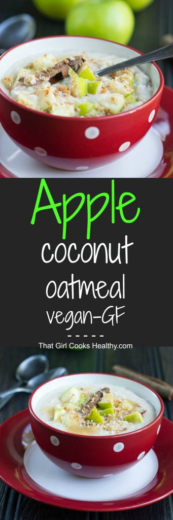 Apple-coconut-oatmeal