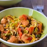 Cajun chicken with zoodles1