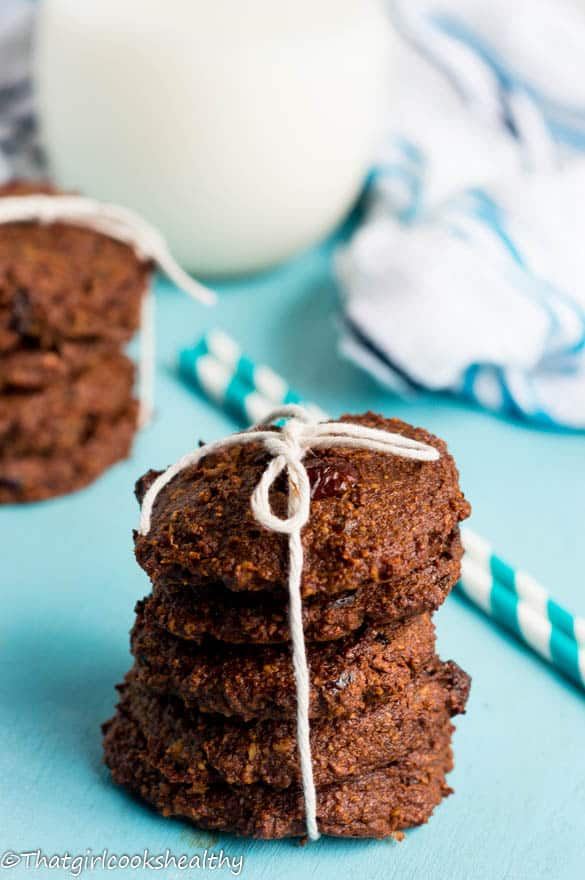 Chocolare cherry cookies