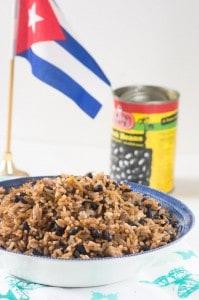 Moros y cristianos recipe (Cuban)