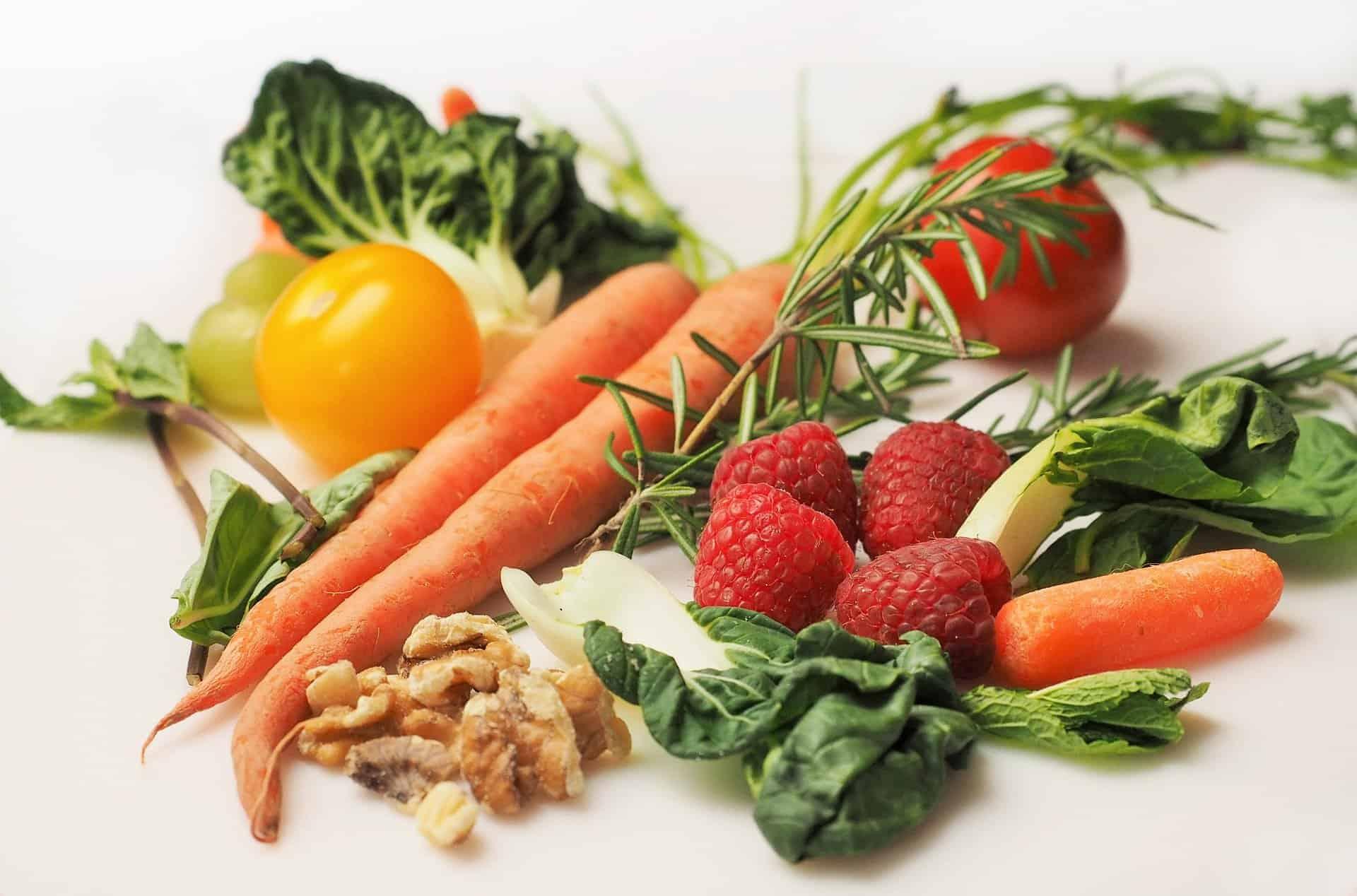 Assortment of vegetables