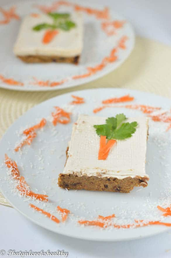 Dairy Free Carrot Cake Recipe Uk