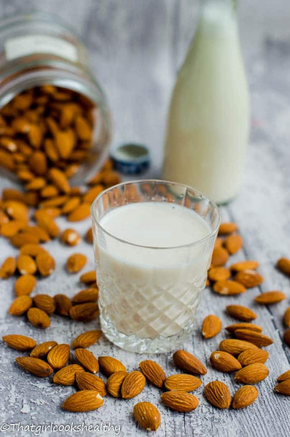 homemade almond milk2