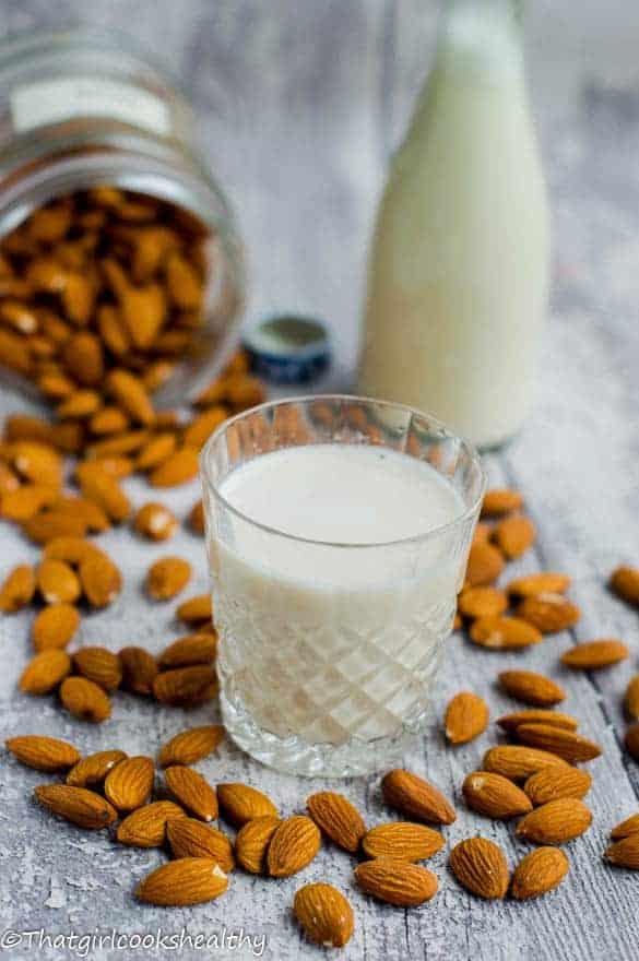 homemade almond milk2
