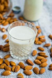 My homemade almond milk recipe