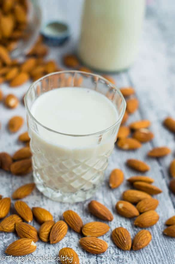 homemade almond milk3
