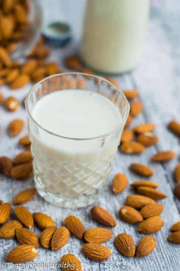 homemade almond milk3