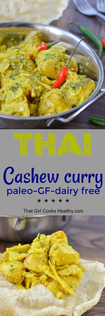 Thai cashew curry