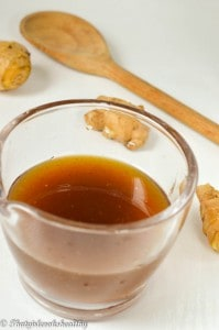 How to make ginger syrup