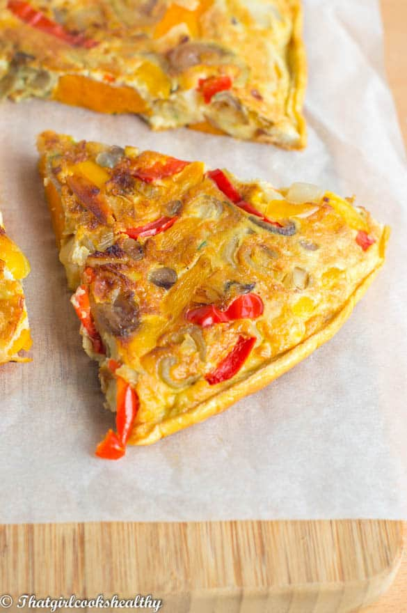 Sweet potato Spanish omelette (Tortilla de Patatas) - That Girl Cooks ...