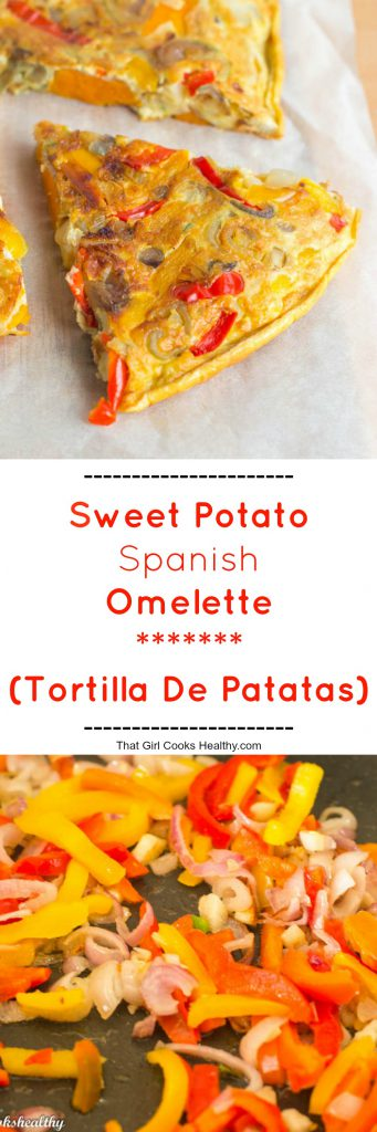 Sweet potato Spanish omelette (Tortilla de Patatas) - That ...