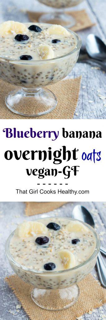 blueberry banana overnight oats
