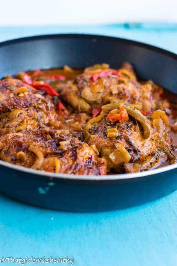Brown stew chicken2