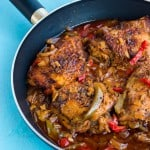Authentic Jamaican brown stew chicken