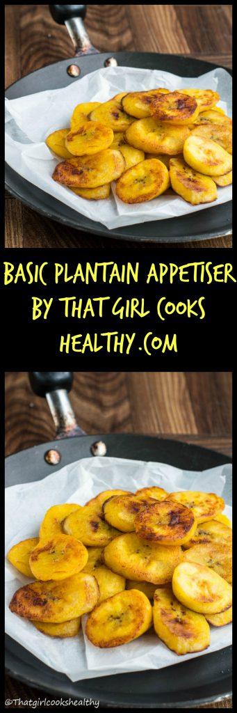 Plantain appetiser
