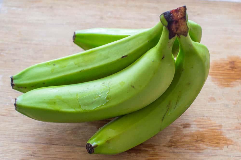 Green banana - Green banana porridge (vegan style)