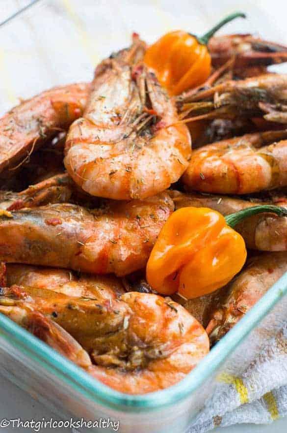 Jamaican hot pepper shrimp3
