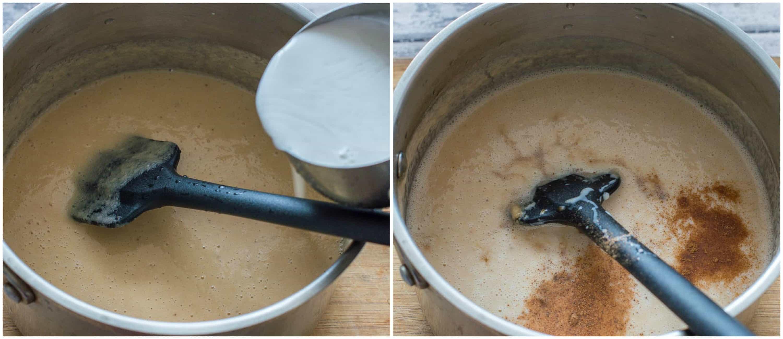 green banana porridge steps 7 8 - Green banana porridge (vegan style)