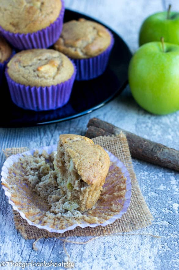 Apple and cinnamon muffins3