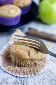 Apple and cinnamon muffins (gluten free)