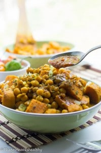 Channa and aloo (copy cat version)