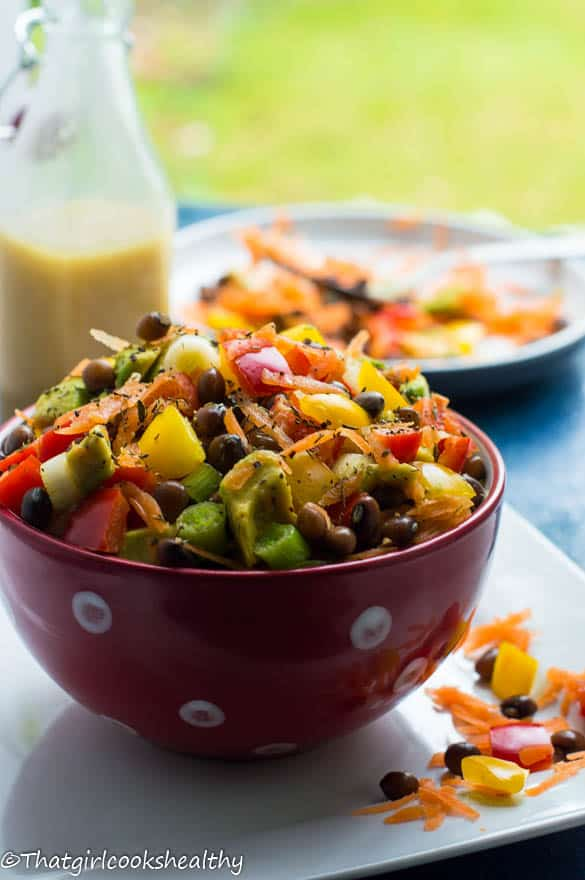Pigeon pea Caribbean salad