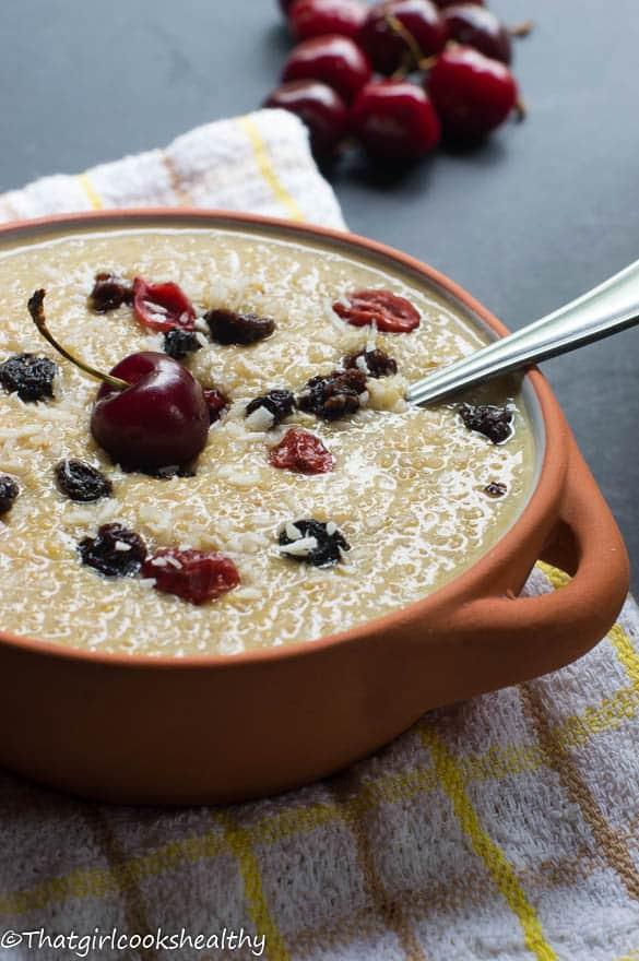 Quinoa pudding2