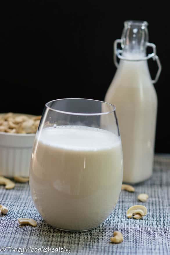 Cashew Milk recipe3