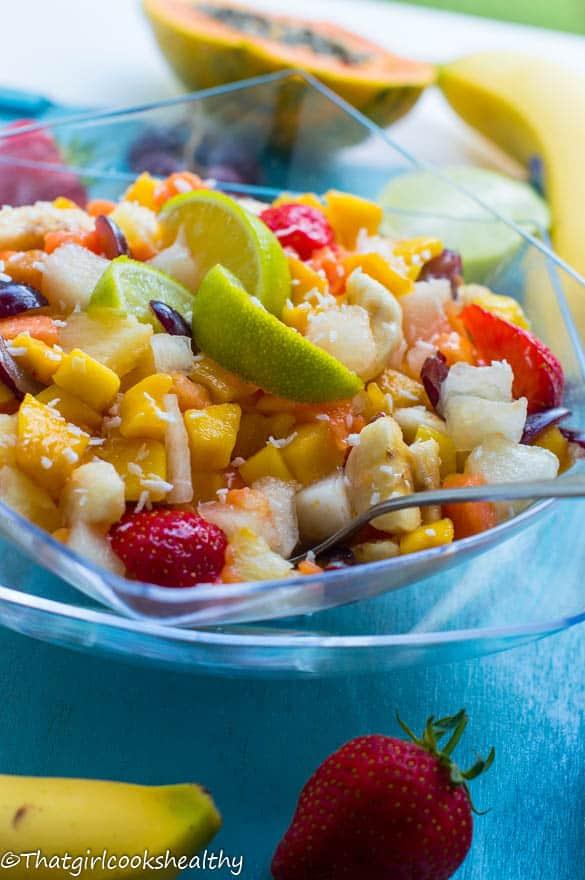 Tropical fruit salad2