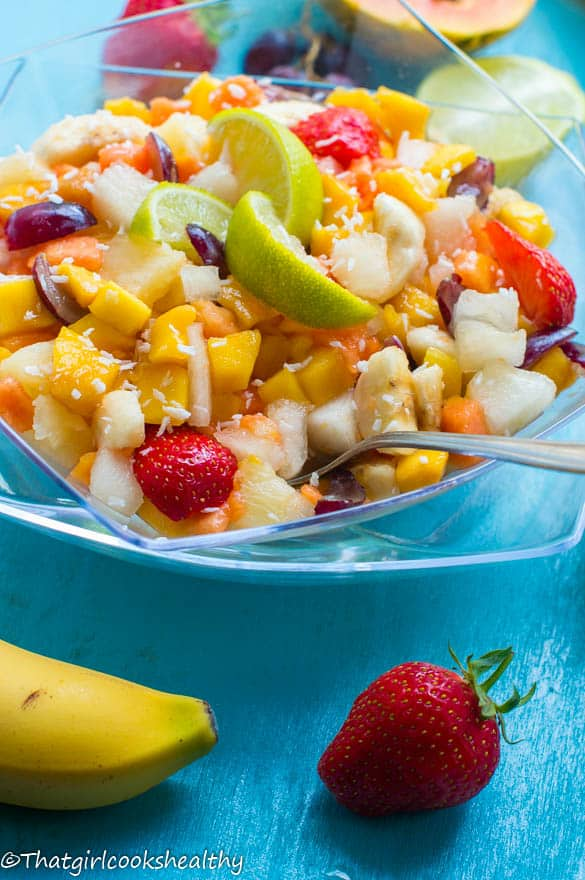 Tropical fruit salad3