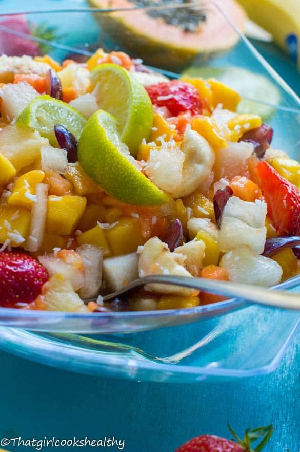 Tropical fruit salad4